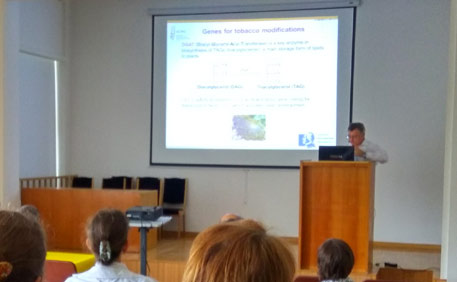 Nikolai Borisjuk 2016 ICBGE Plant genetic modifications for.jpg