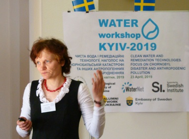 Workshop Clean Water and Remediation Technologies. Focus on Chornobyl Disaster and Anthropogenic Pollution 2019 6504.jpg