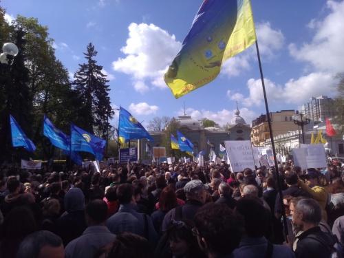 Aktsiya protestu proty znyshchennya nauky 20160419-IMAG0821.jpg